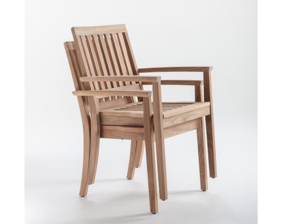 Кресло Cambridge Stacking Dining: фото - магазин CANVAS outdoor furniture.