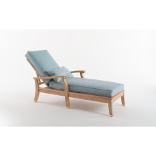 Шезлонг Heritage Sunlounger: фото - магазин CANVAS outdoor furniture.