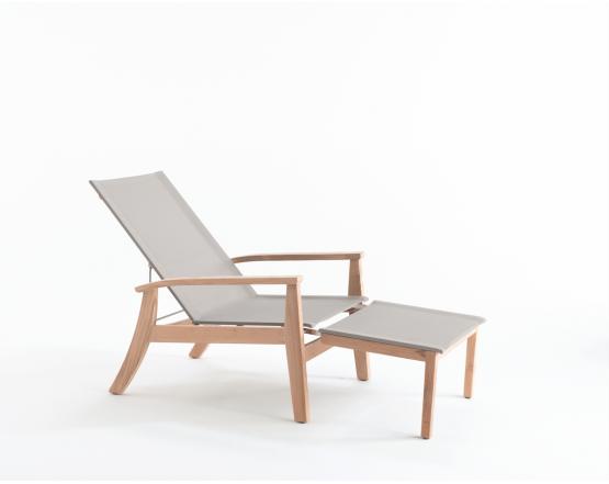 Кресло Lugano Multiposition: фото - магазин CANVAS outdoor furniture.