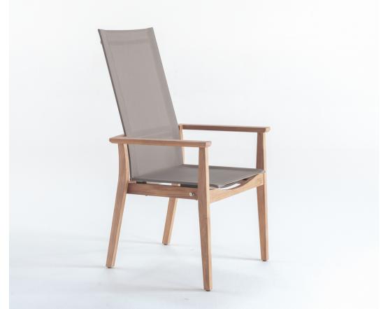 Кресло Lugano Sling Recliner: фото - магазин CANVAS outdoor furniture.