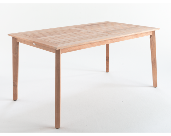 Обеденный стол Lugano Teak 160х90: фото - магазин CANVAS outdoor furniture.