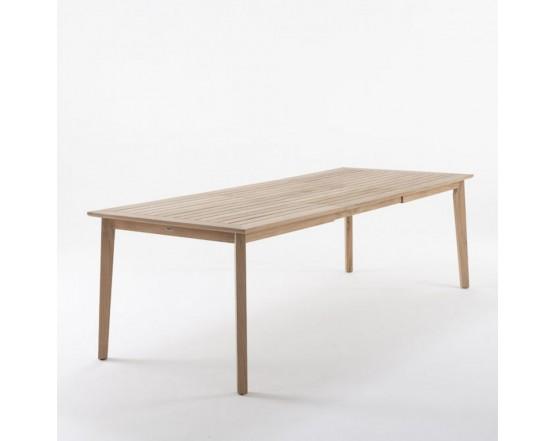 Обеденный стол  Lugano Teak 170/245х90: фото - магазин CANVAS outdoor furniture.