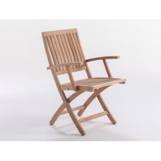 Cкладное кресло Lugano Teak Folding: фото - магазин CANVAS outdoor furniture.