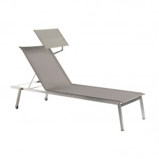 Шезлонг Quadro Sunlounger: фото - магазин CANVAS outdoor furniture.