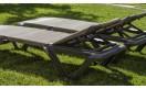 Шезлонг Eva Pro - PRESTIGE FRAME - Dark Grey: фото - магазин CANVAS outdoor furniture.