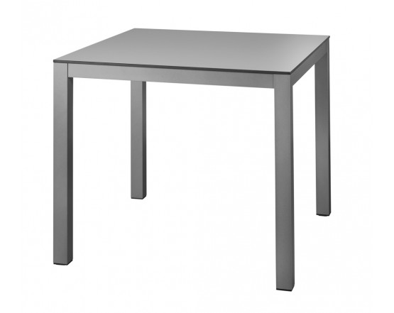 Обеденный стол BRUNEI Aluminio 80x80: фото - магазин CANVAS outdoor furniture.