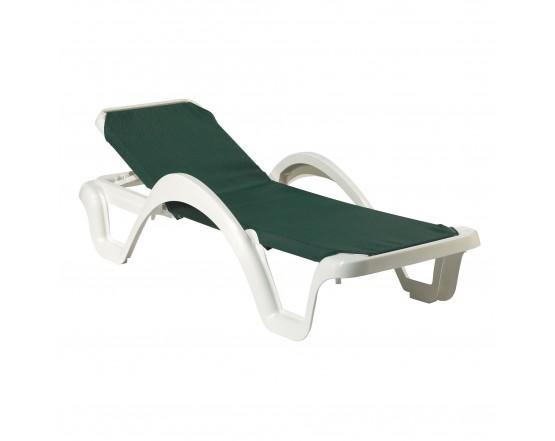 Шезлонг Carmen Green: фото - магазин CANVAS outdoor furniture.