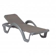 Шезлонг Carmen Prestige Aluminium: фото - магазин CANVAS outdoor furniture.