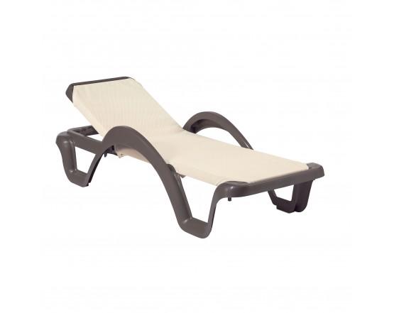 Шезлонг Carmen Prestige Grey: фото - магазин CANVAS outdoor furniture.