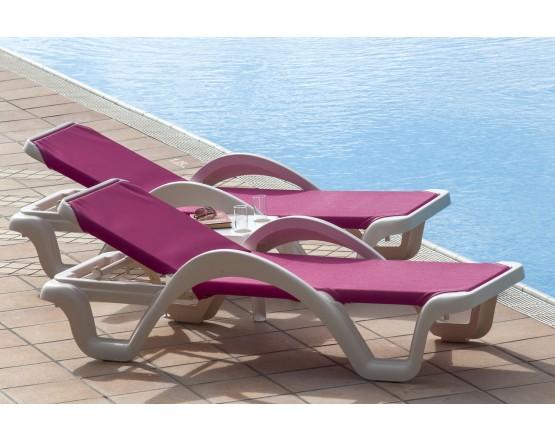 Шезлонг Carmen Rose: фото - магазин CANVAS outdoor furniture.