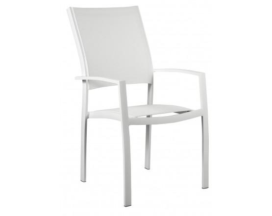 Стул ETNA Blanco с высокой спинкой: фото - магазин CANVAS outdoor furniture.