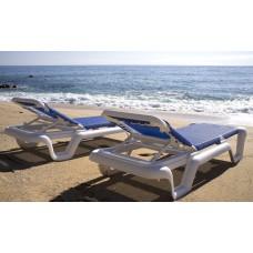 Шезлонг LOLA Blue: фото - магазин CANVAS outdoor furniture.