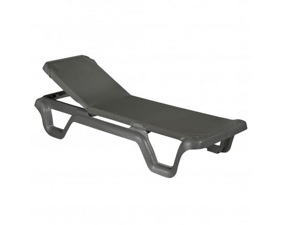 Шезлонг LOLA Prestige Grey: фото - магазин CANVAS outdoor furniture.