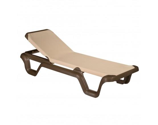 Шезлонг LOLA Prestige dark: фото - магазин CANVAS outdoor furniture.