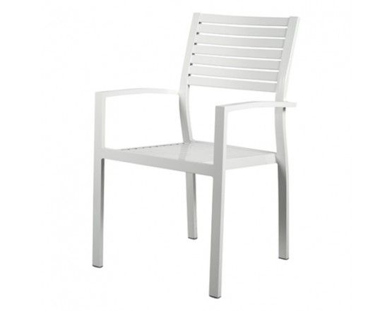 Стул PARIS Blanco: фото - магазин CANVAS outdoor furniture.