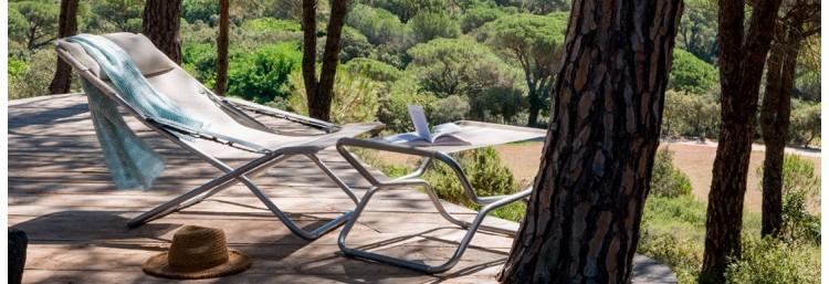Шезлонг или кресло-шезлонг - отличный выбор для пикника: фото - магазин CANVAS outdoor furniture.