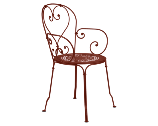Кресло 1900 Armchair Red Ochre: фото - магазин CANVAS outdoor furniture.