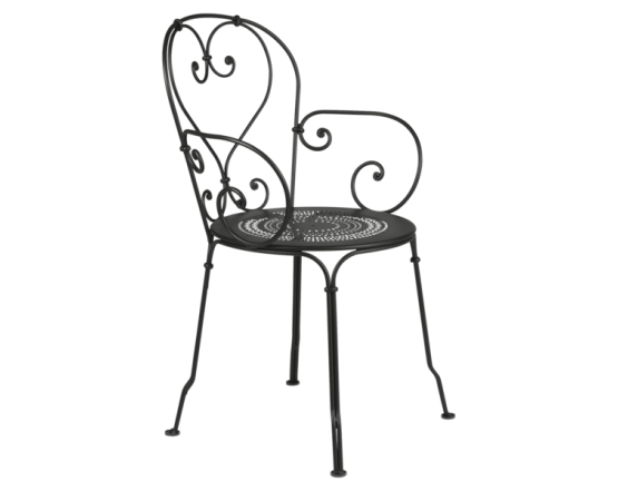 Кресло 1900 Armchair Liquorice: фото - магазин CANVAS outdoor furniture.