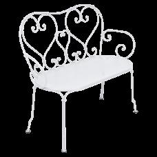 1900 Bench Cotton White: фото - магазин CANVAS outdoor furniture.
