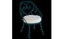 Кресло 1900 Cabriolet Armchair Acapulco Blue: фото - магазин CANVAS outdoor furniture.