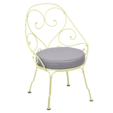 1900 Cabriolet Armchair Frosted lemon: фото - магазин CANVAS outdoor furniture.