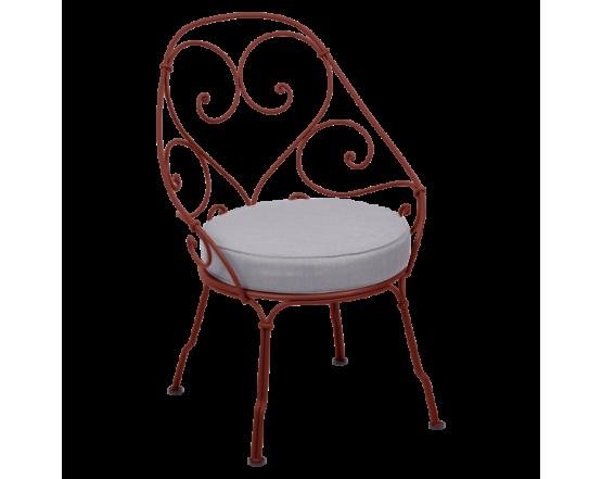 Кресло 1900 Off-White Cabriolet Red Ochre: фото - магазин CANVAS outdoor furniture.