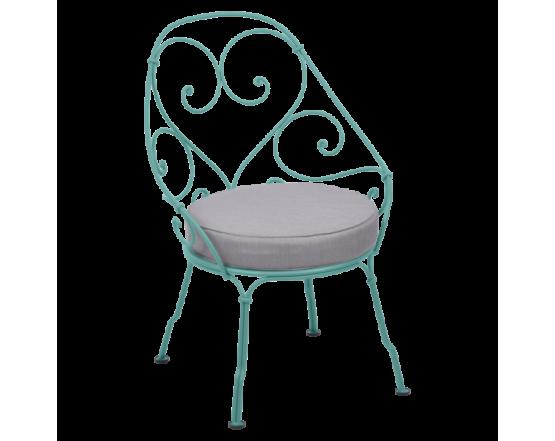 Кресло 1900 Cabriolet Armchair Lagoon Blue: фото - магазин CANVAS outdoor furniture.