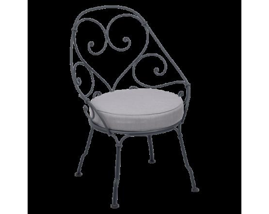 Кресло 1900 Cabriolet Armchair Anthracite: фото - магазин CANVAS outdoor furniture.