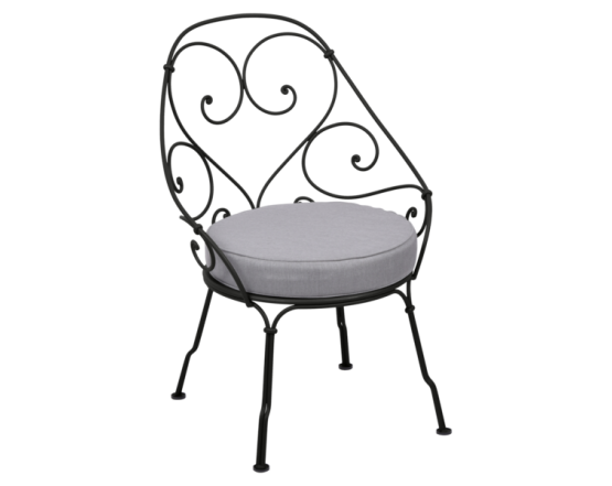 Кресло 1900 Cabriolet Armchair Liquorice: фото - магазин CANVAS outdoor furniture.