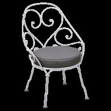 1900 Graphite Grey Cabriolet Cotton White: фото - магазин CANVAS outdoor furniture.