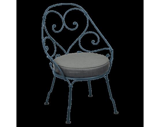 Кресло 1900 Graphite Grey Cabriolet Acapulco Blue: фото - магазин CANVAS outdoor furniture.