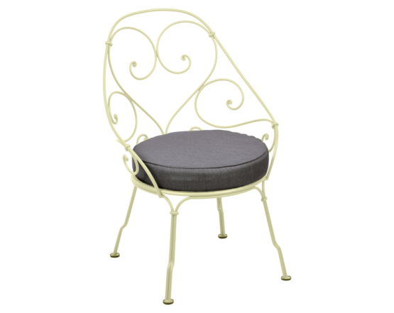 Кресло 1900 Graphite Grey Cabriolet Frosted lemon: фото - магазин CANVAS outdoor furniture.