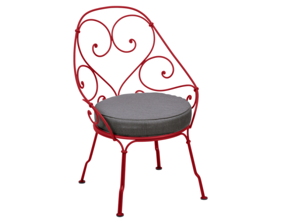 Кресло 1900 Graphite Grey Cabriolet Poppy: фото - магазин CANVAS outdoor furniture.