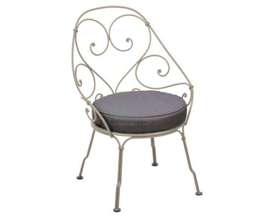 Кресло 1900 Graphite Grey Cabriolet Nutmeg: фото - магазин CANVAS outdoor furniture.