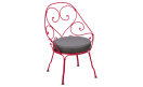 Кресло 1900 Cabriolet Armchair Pink Praline: фото - магазин CANVAS outdoor furniture.