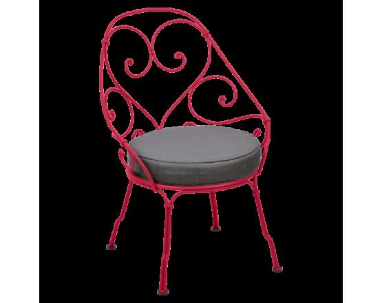 Кресло 1900 Graphite Grey Cabriolet Pink Praline: фото - магазин CANVAS outdoor furniture.