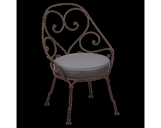 Кресло 1900 Graphite Grey Cabriolet Russet: фото - магазин CANVAS outdoor furniture.