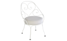 Кресло 1900 Cabriolet Armchair Cotton White: фото - магазин CANVAS outdoor furniture.