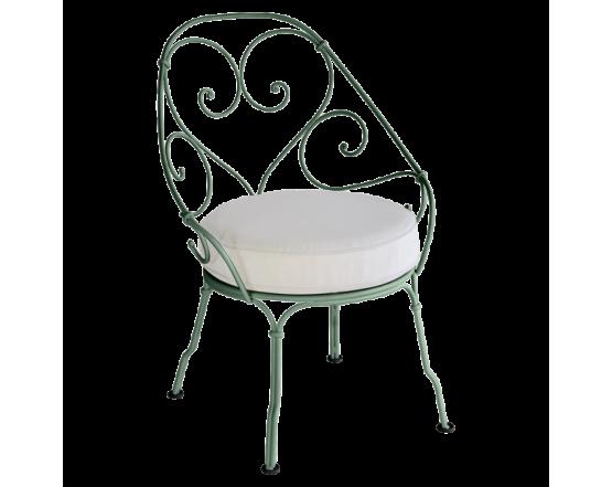 Кресло 1900 Off-White Cabriolet Cedar Green: фото - магазин CANVAS outdoor furniture.