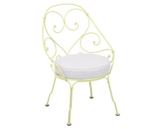 Кресло 1900 Off-White Cabriolet Frosted lemon: фото - магазин CANVAS outdoor furniture.