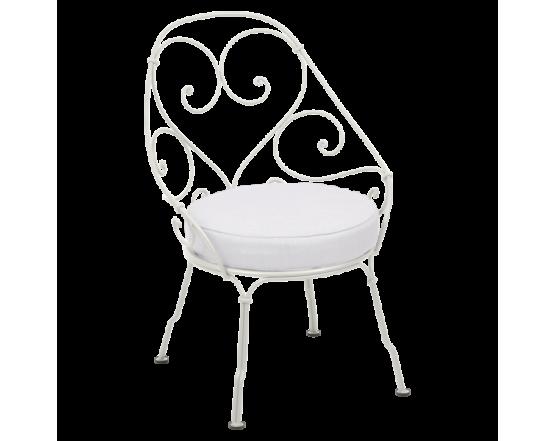 Кресло 1900 Off-White Cabriolet Clay Grey: фото - магазин CANVAS outdoor furniture.