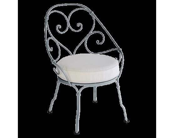 Кресло 1900 Off-White Cabriolet Storm Grey: фото - магазин CANVAS outdoor furniture.