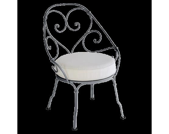 Кресло 1900 Off-White Cabriolet Anthracite: фото - магазин CANVAS outdoor furniture.