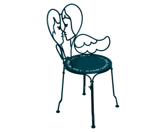 Стул Ange Chair Acapulco Blue: фото - магазин CANVAS outdoor furniture.