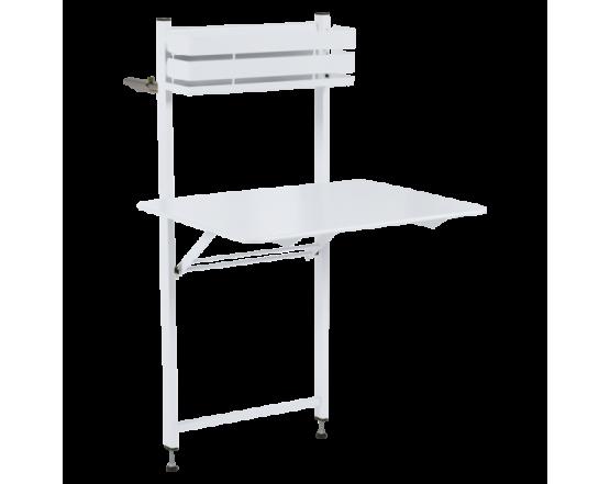 Стол Bistro Balcony Table 57x77 Cotton White: фото - магазин CANVAS outdoor furniture.