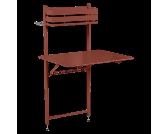 Стол Bistro Balcony Table 57x77 Red Ochre: фото - магазин CANVAS outdoor furniture.