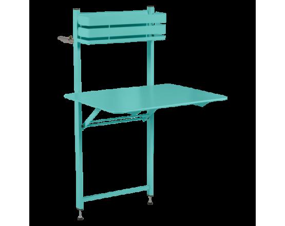 Стол Bistro Balcony Table 57x77 Lagoon Blue: фото - магазин CANVAS outdoor furniture.