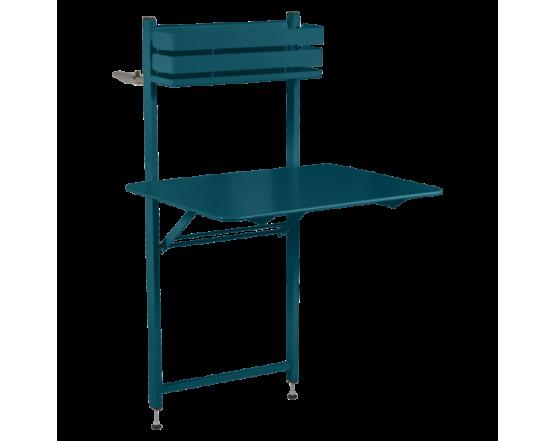 Стол Bistro Balcony Table 57x77 Acapulco Blue: фото - магазин CANVAS outdoor furniture.