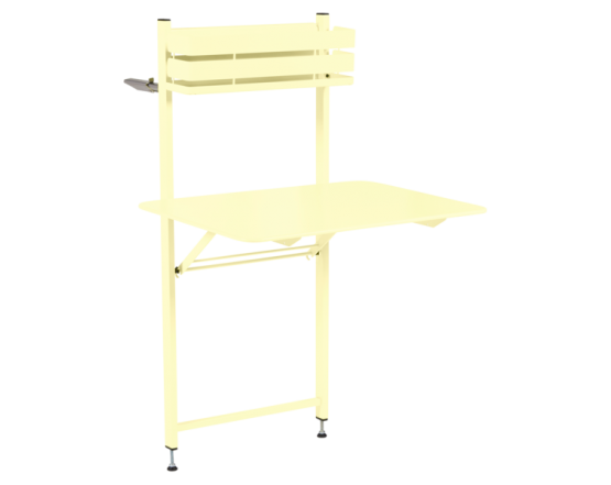 Стол Bistro Balcony Table 57x77 Frosted lemon: фото - магазин CANVAS outdoor furniture.