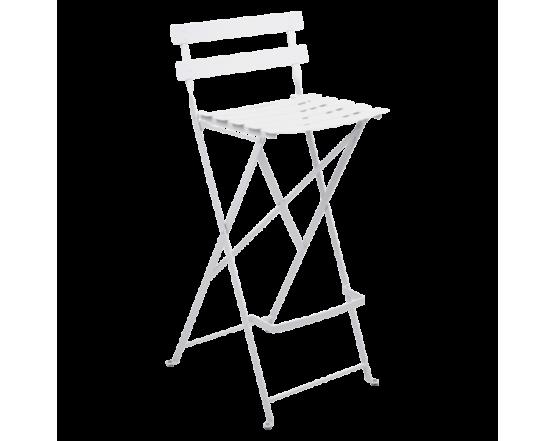Барный стул  Bistro Foldable Bar Chair Cotton White: фото - магазин CANVAS outdoor furniture.